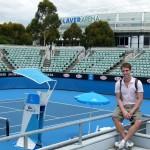 Die Rod Laver Arena in Melbourne