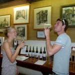 Marit und Philipp hatten mittlerweile den zehnten Wein probiert.