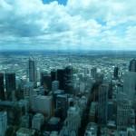 Super Ausblick aus dem 88. Stock des Eureka Towers mitten in Melbourne.