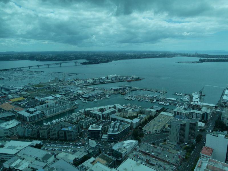 Aukland Harbour.