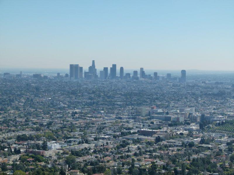 Ausblick vom Observatory auf die Stadt