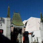 Das Chinese theater am Hollywood Blvd.