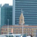 Das Ferryterminal ähnelt sehr dem Hauptbahnhof in Melbourne.
