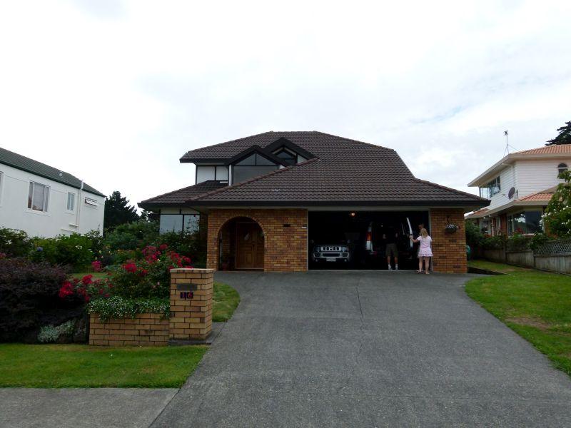 Das Hause der Fulchers, in dem wir aufgenommen wurden
