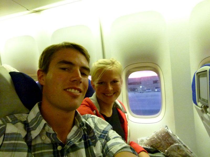 Der letzte lange Flug liegt direkt vor uns