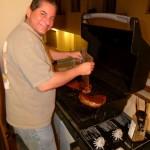 Steve am Grill